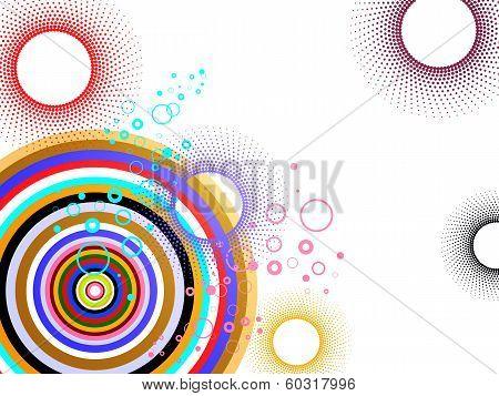 Colorful graphic design