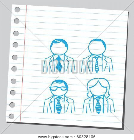 Group of avatars