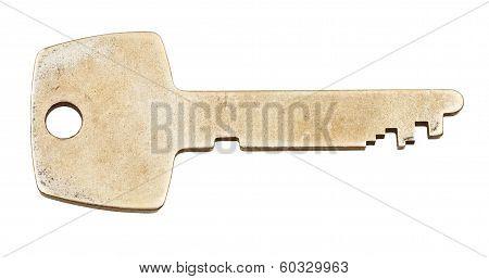 Brass Flat Key