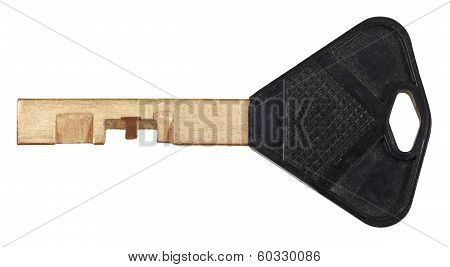 Brass Door Key For Disc Tumbler Lock