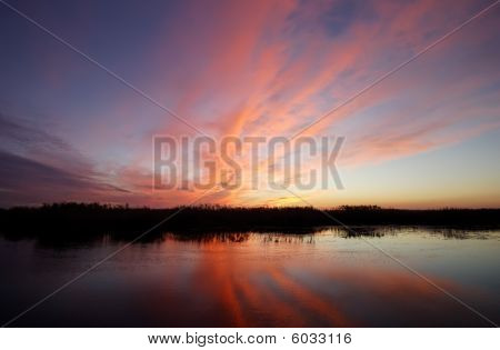 Sunset as Dragon Birth