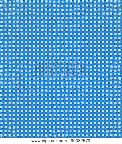 Vintage Cerulean Country Checkered Background.