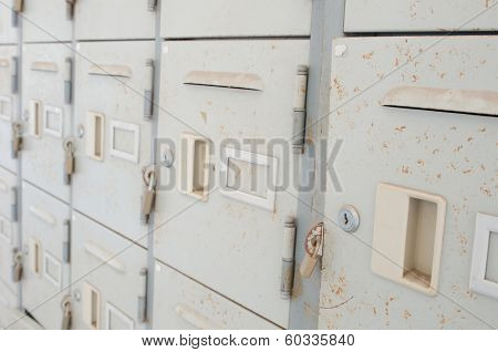 Rusted Old Lockers