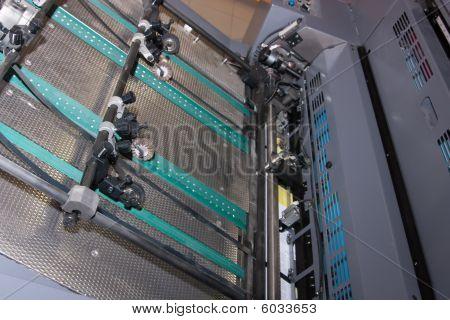 Detail Of Offset Machine