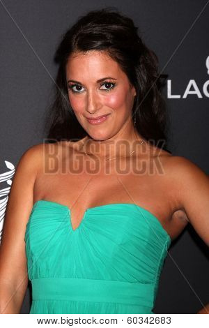 LOS ANGELES - FEB 22:  Angelique Cabral at the 16th Annual Costume Designer Guild Awards at Beverly Hilton Hotel on February 22, 2014 in Beverly Hills, CA