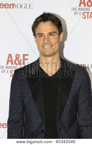 LOS ANGELES - FEB 22:  Gregory Michael at the Abercrombie & Fitch 'The Making of a Star' Spring Campaign Party  at Siren Studios on February 22, 2014 in Los Angeles, CA