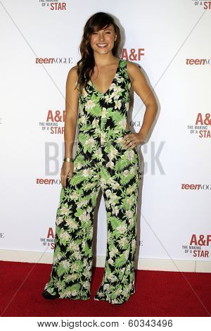LOS ANGELES - FEB 22:  Briana Evigan at the Abercrombie & Fitch 'The Making of a Star' Spring Campaign Party  at Siren Studios on February 22, 2014 in Los Angeles, CA
