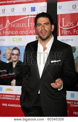 LOS ANGELES - FEB 23:  Eli Roth at the LA Italia Opening Night at TCL Chinese 6 Theaters on February 23, 2014 in Los Angeles, CA