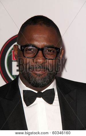 LOS ANGELES - FEB 22:  Idris Elba at the 45th NAACP Image Awards Arrivals at Pasadena Civic Auditorium on February 22, 2014 in Pasadena, CA