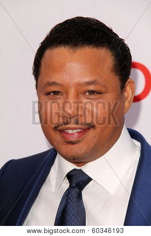 LOS ANGELES - FEB 22:  Terrence Howard at the 45th NAACP Image Awards Arrivals at Pasadena Civic Auditorium on February 22, 2014 in Pasadena, CA