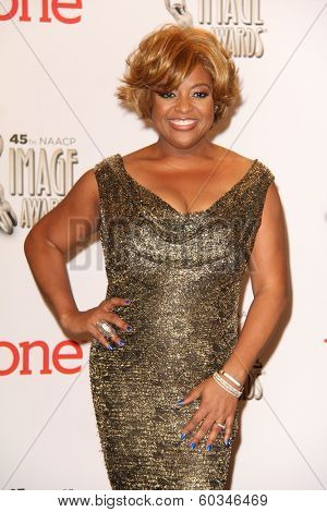 vLOS ANGELES - FEB 22:  Sherri Shepherd at the 45th NAACP Image Awards Press Room at Pasadena Civic Auditorium on February 22, 2014 in Pasadena, CA
