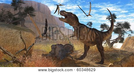 Tyrannosaurus Meeting
