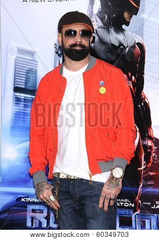 LOS ANGELES - FEB 10:  AJ McLean arrives to the