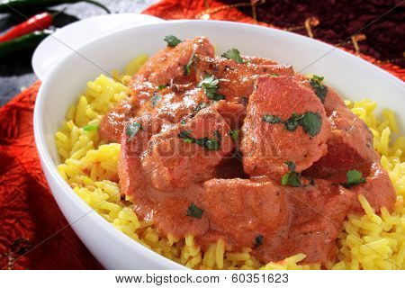 traditional Indian curry