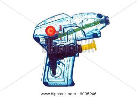 Blue Water Pistol