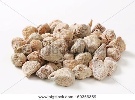 portion of dried figs breaded with sugar
