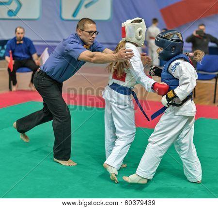 Competition On Kyokushinkai Karate.