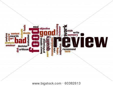 Food Review  Word Cloud