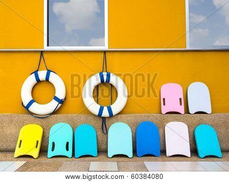 Swim Boards And Lifebuoy