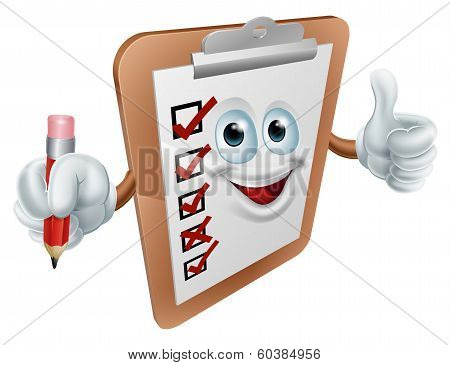Clipboard Character