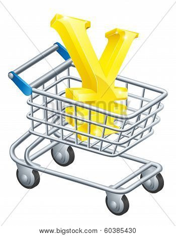 Yen Money Trolley Concept