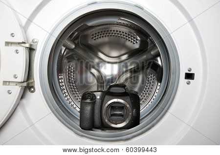 Camera In Washing Machine