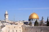 stock photo of aqsa  - The Dome of the Rock  - JPG