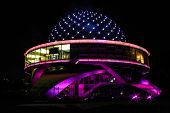 picture of planetarium  - Buenos Aires Argentina Planetary at night  - JPG