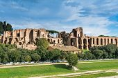 pic of reign  - House of Augustus is the first major site upon entering the Palatine Hill in Rome - JPG