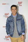 LOS ANGELES - FEB 22:  Colton Haynes at the Abercrombie & Fitch 'The Making of a Star' Spring Campai
