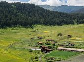 foto of greater  - Shenako village on the southern slope of the Greater Caucasus - JPG