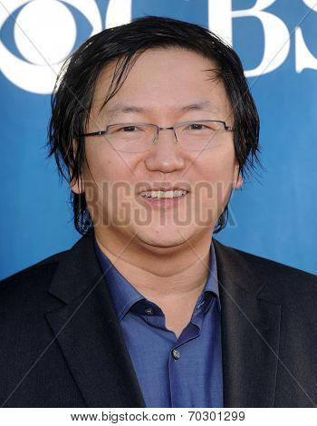 LOS ANGELES - JUL 17:  Masi Oka arrives to the CBS-CW-Showtime Summer TCA Press Tour 2014  on July7, 2014 in West Hollywood, CA.