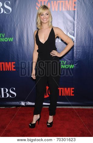 LOS ANGELES - JUL 17:  Beth Behrs arrives to the CBS-CW-Showtime Summer TCA Press Tour 2014  on July7, 2014 in West Hollywood, CA.