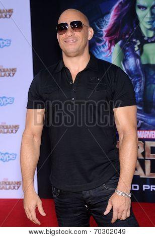 LOS ANGELES - JUL 21:  Vin Diesel arrives to the