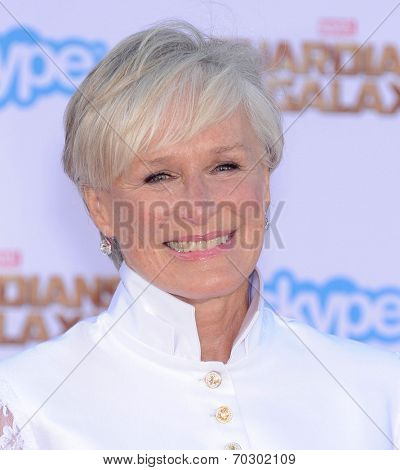LOS ANGELES - JUL 21:  Glenn Close arrives to the
