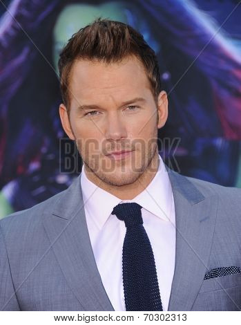 LOS ANGELES - JUL 21:  Chris Pratt arrives to the