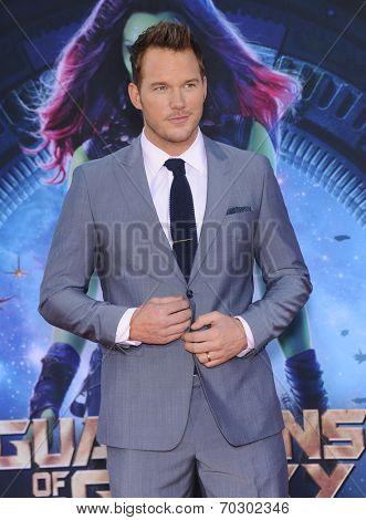 LOS ANGELES - JUL 21:  Chris Pratt arrives to the