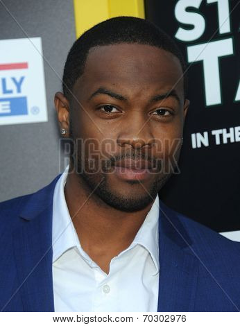 LOS ANGELES - AUG 04:  Ser'Darius Blain arrives to the