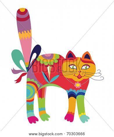cat (vector illustration)