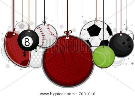 Ballsport auf Zeichenfolgen