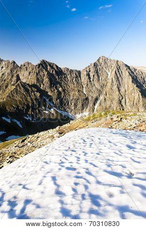 Vysne koprovske sedlo, Vysoke Tatry (High Tatras), Slovakia