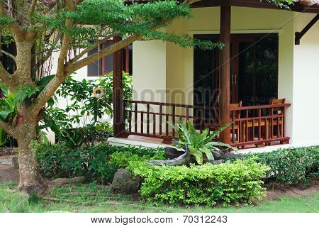 Villa, Gardening, Landscaping, Park Decoration And Design
