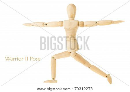 Yoga Warrior Ii Pose