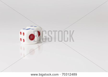 White Pair Dice