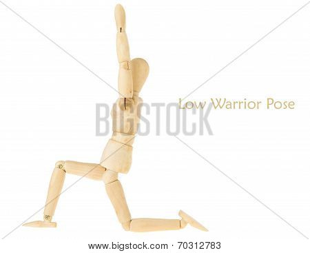 Yoga Low Warrior Pose