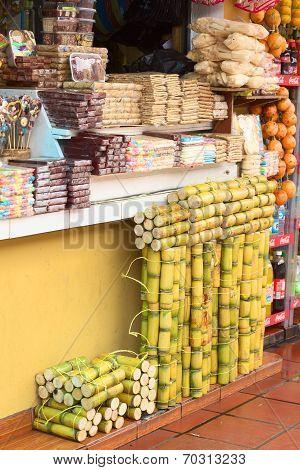 Sweet Stand in Banos, Ecuador