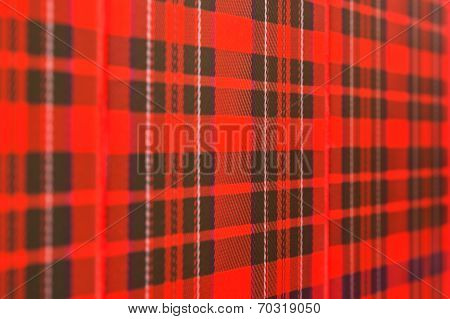 Scottish Checked Pattern Background