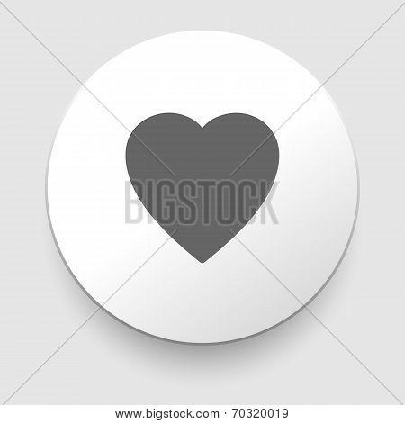 Hearth symbol,vector