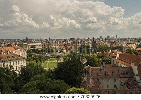 Rooftops Of Lesser Town, Prague