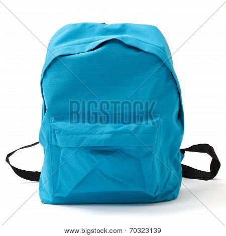 School Bag With Clipping Path